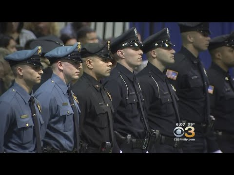 New Graduates Of The Camden County Police Academy Are Hitting The Streets