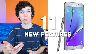 Galaxy Note 5: 11 New Features