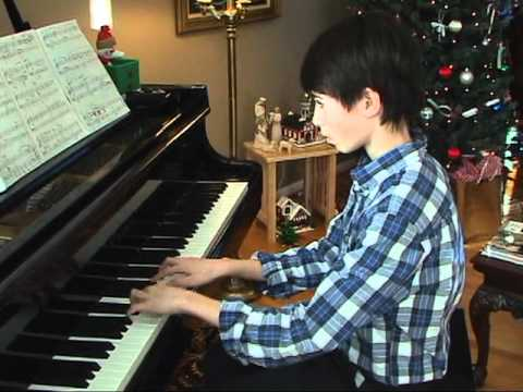 Up On The House Top, B Han, Piano Recital Music at Home, 121811