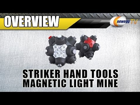 Striker FLEXiT LED Task Light And Magnetic Light Mine Combo Overview - Newegg TV