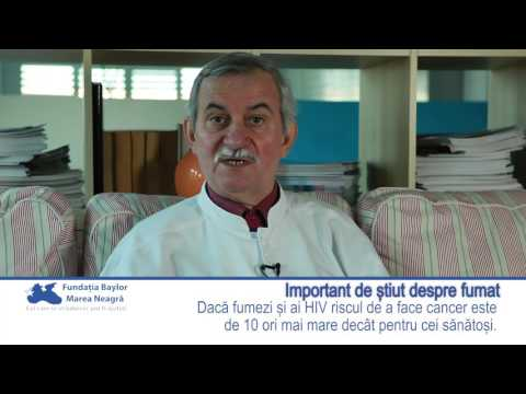 Dr. Emanoil Vasiliu explică de ce este bine să nu fumăm