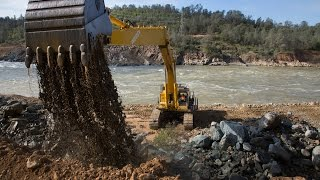 new video   inflows increase to 40k   oroville trip update   lake oroville dam updates 3 21 17