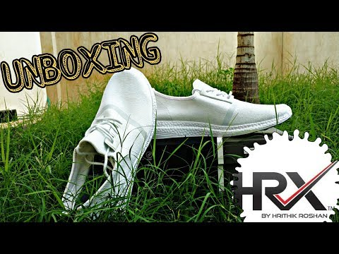 HRX - CASUAL WHITE SHOES (UNBOXNG) // HRX by Hrithik Roshan