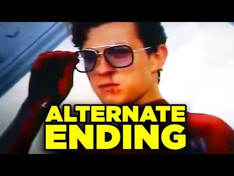 Spiderman Far From Home ALTERNATE ENDING Revealed! (Mysterio Final Battle)