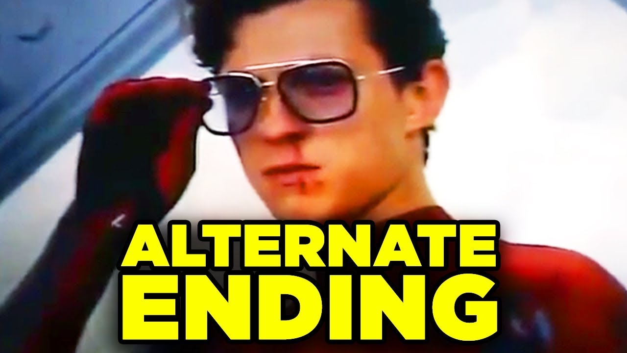 Spiderman Far From Home ALTERNATE ENDING Revealed! (Mysterio Final Battle)