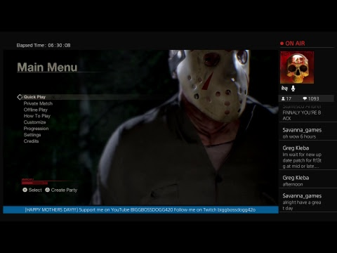 F13 UPDATE EVE!!! Friday The 13th : THE GAME (ROAD TO 1K)