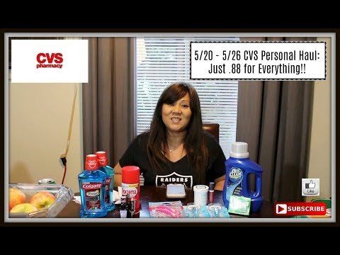 5/20 - 5/26 CVS Personal Haul: Just .88 for Everything!!
