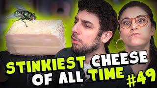 Stinky Cheese Washed in Sea Water! (Taleggio) - #49