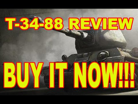 T-34-88 review/why you should BUY IT NOW!!! (World of Tanks Xbox1/PS4)