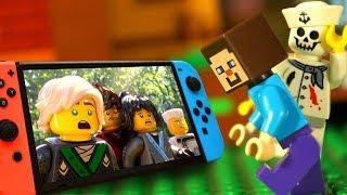 Майнкрафт 🎮 Лего Нубик и Ниндзяго Мультики Все Серии Подряд Nintendo Switch Мультфильмы