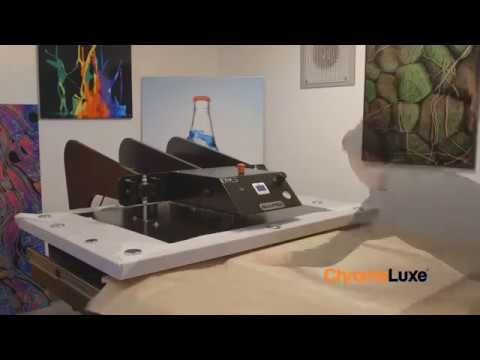 How to Sublimate Images onto ChromaLuxe Table Tops -