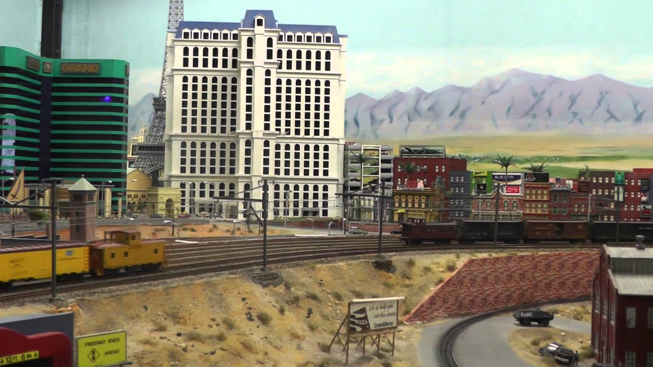 Little USA ( HO scale 1:87 ) in Hamburg, Germany, Miniature Wonderland,  8 May 2013