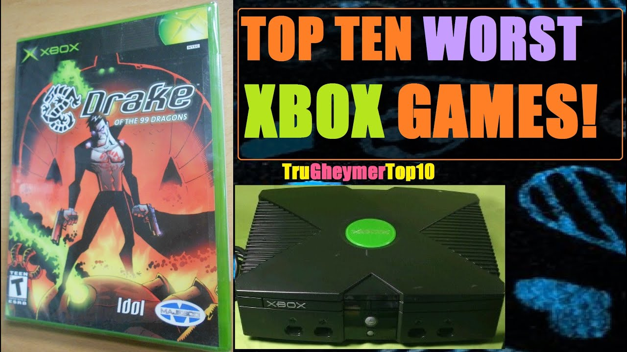 Original Xbox Games For Xbox : Top worst original xbox games of all time youtube