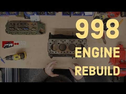 Classic Mini DIY - 998 Engine Rebuild Series
