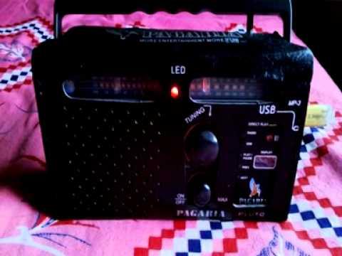 My New Pagaria AM FM SW Radio cum MP3 player