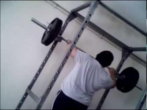 120 kg military press Personal Record