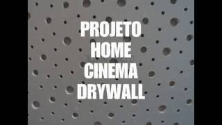 Home Theater Drywall SÃo Paulo Sp -  Knauf Cleaneo