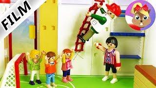 Playmobil Film polski | DZIADEK idzie za Juliana do szkoły | Udana lekcja WFu?! | Serial