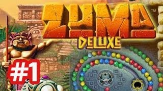Zuma Deluxe - PC Gameplay - Part 1 Stage 1 (Level 1 - 5)