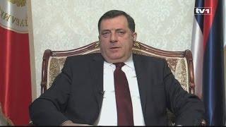 Ekskluzivni intervju Milorada Dodik za TV1
