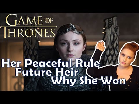Sansa's Future, Her Heir, Why She's the Smartest Character (GAME OF THRONES)