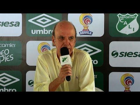 Nov 3 2017 Presidente del Deportivo Cali pidió excusas a la hinchada por mala campaña en la Liga II