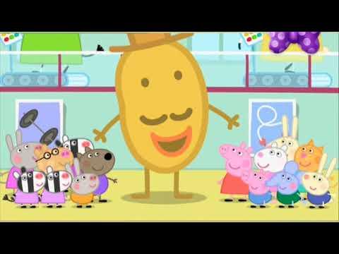 Свинка пепа-Мистер картошка приезжает в город