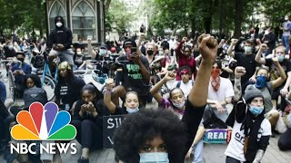 George Floyd Protests Across The Nation As Police Face Increased Scrutiny | NBC Nightly News