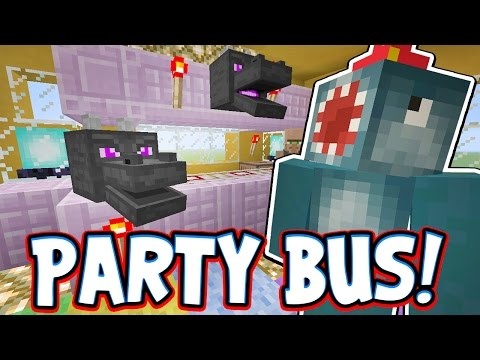Minecraft Xbox - PARTY BUS!! - Building Time [#70]