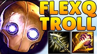 FlexQ Trolling ft. Broeki, Don Arts & Co | Blitzcrank Jungle | LOL Challenger Gameplay  | Noway4u
