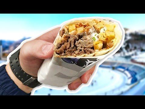 Мраморный донер! Что едят в Казахстане?