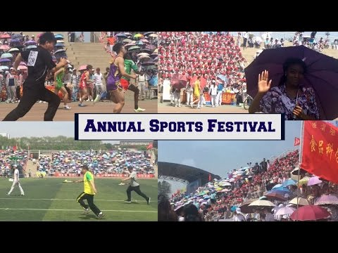 A Day in My Life In China || My University's Annual Sports Festival