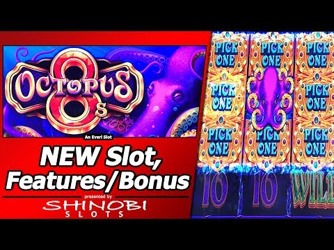 Octopus 8 slot machine
