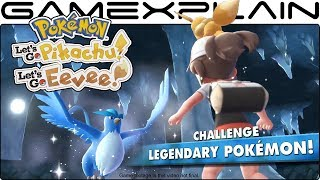 Pokémon Let's Go Pikachu & Eevee - Challenging Legendaries & Connecting with GO Trailer