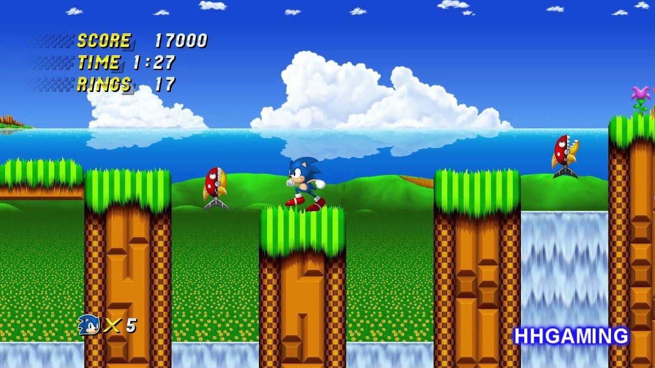 Sonic 2 HD Remake Walk...