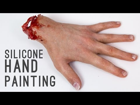 Hyper-realistic Silicone Hand Painting | Freakmo