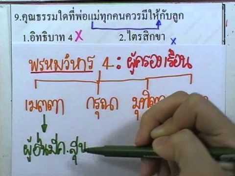 ข้อสอบเข้าม.1 : สังคม ชุด01 ข้อ09