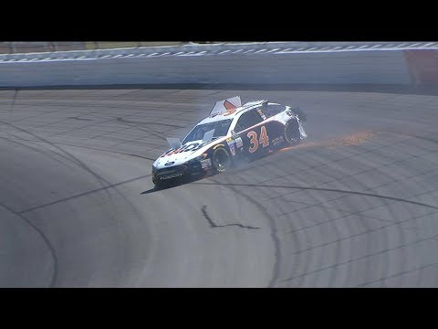 Cassill smacks the wall in opening Michigan practice