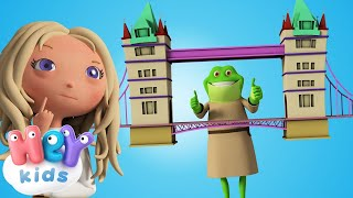 Строим новый мост - Лондонский мост падает на русском для детей - Песни Для Детей .tv