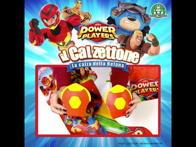 Giochi Preziosi   Calzettone Power Players Unboxing
