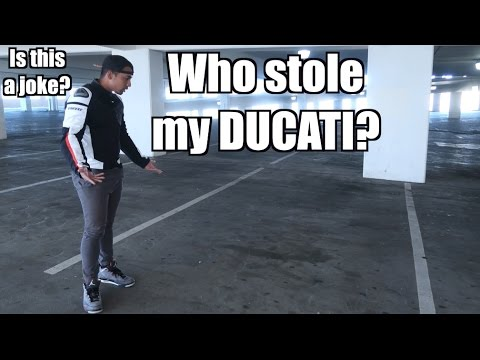 Somebody stole my new Ducati 959 Panigale? | Socal Motorcycl