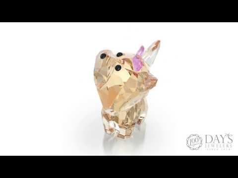 Swarovski Crystal Dixie the Yorkshire Puppy
