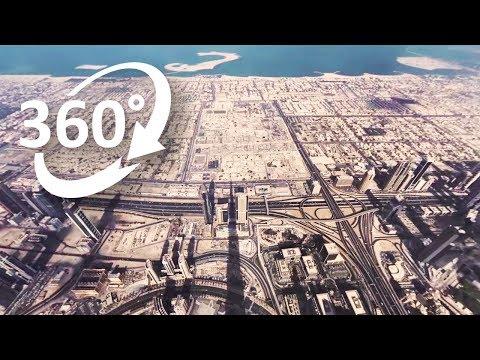 (4K) 360: Burj Khalifa | One day on top of the world in Dubai – Visit Dubai