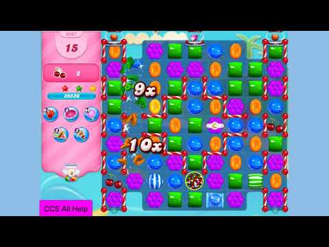 Candy Crush Saga Level 3287 NO BOOSTERS Cookie