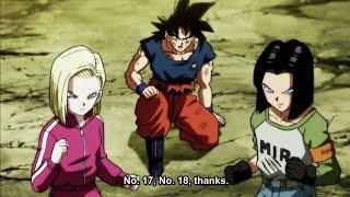 Android 18 And Android 17 Saves Goku - Dragon Ball Super (English Sub)