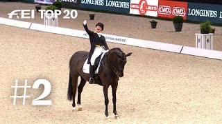 The Dressage maestro of 2018: Isabell Werth | No. 02 | Top 20 moments 2018