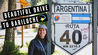 TRAVEL TO BARILOCHE! | The Best of ROUTE 40 from San Martín de los Andes to Bariloche (by Bus!) ?