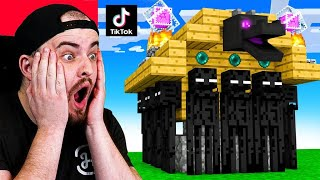 8 MINECRAFT TikToks that ACTUALLY WORK