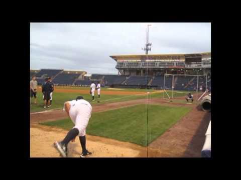 David Aardsma Rehab Start for the SI Yankees
