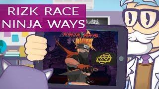 Rizk Race Kokemuksia - Ninja Ways - kisa!